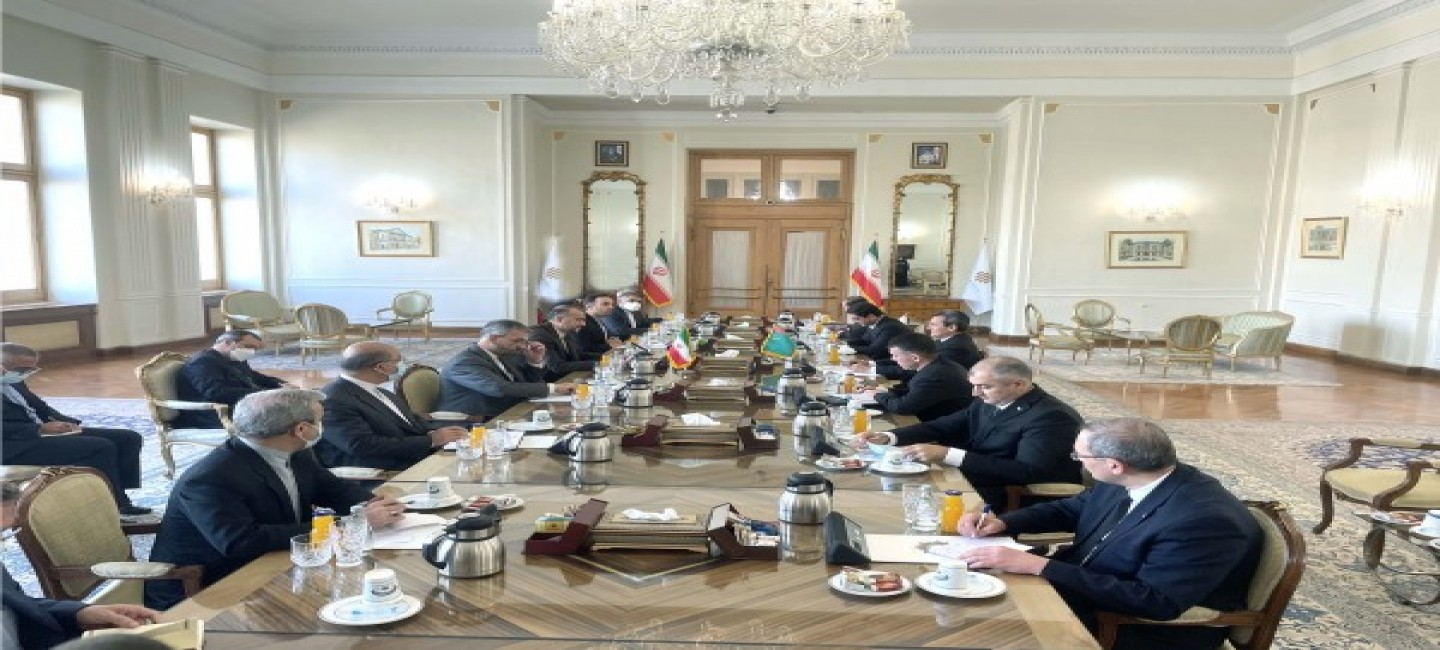POLITICAL CONSULTATIONS ON THE LEVEL OF THE MINISTERS OF FOREIGN AFFAIRS OF TURKMENISTAN AND IRAN WERE HELD IN TEHRAN