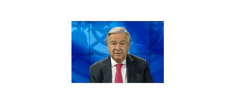 ПОСЛАНИЕ ГЕНЕРАЛЬНОГО СЕКРЕТАРЯ ООН УЧАСТНИКАМ МЕЖДУНАРОДНОЙ КОНФЕРЕНЦИИ, СОСТОЯВШЕЙСЯ В АШХАБАДЕ