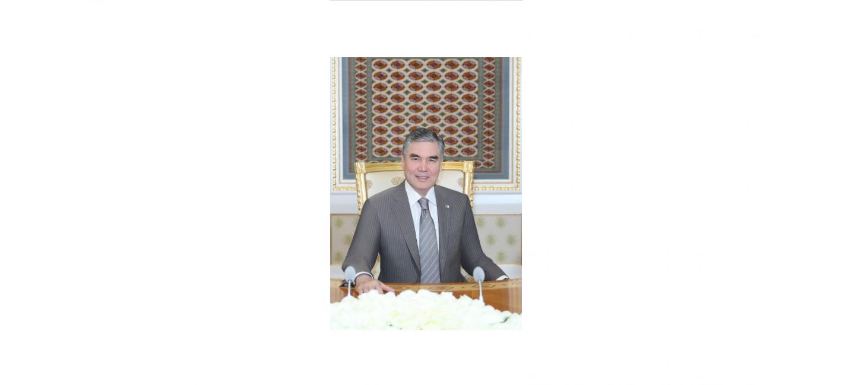 TÜRKMENISTANYŇ PREZIDENTI GURBANGULY BERDIMUHAMEDOWYŇ ADYNA GUTLAG HATLARY GELIP GOWUŞDY
