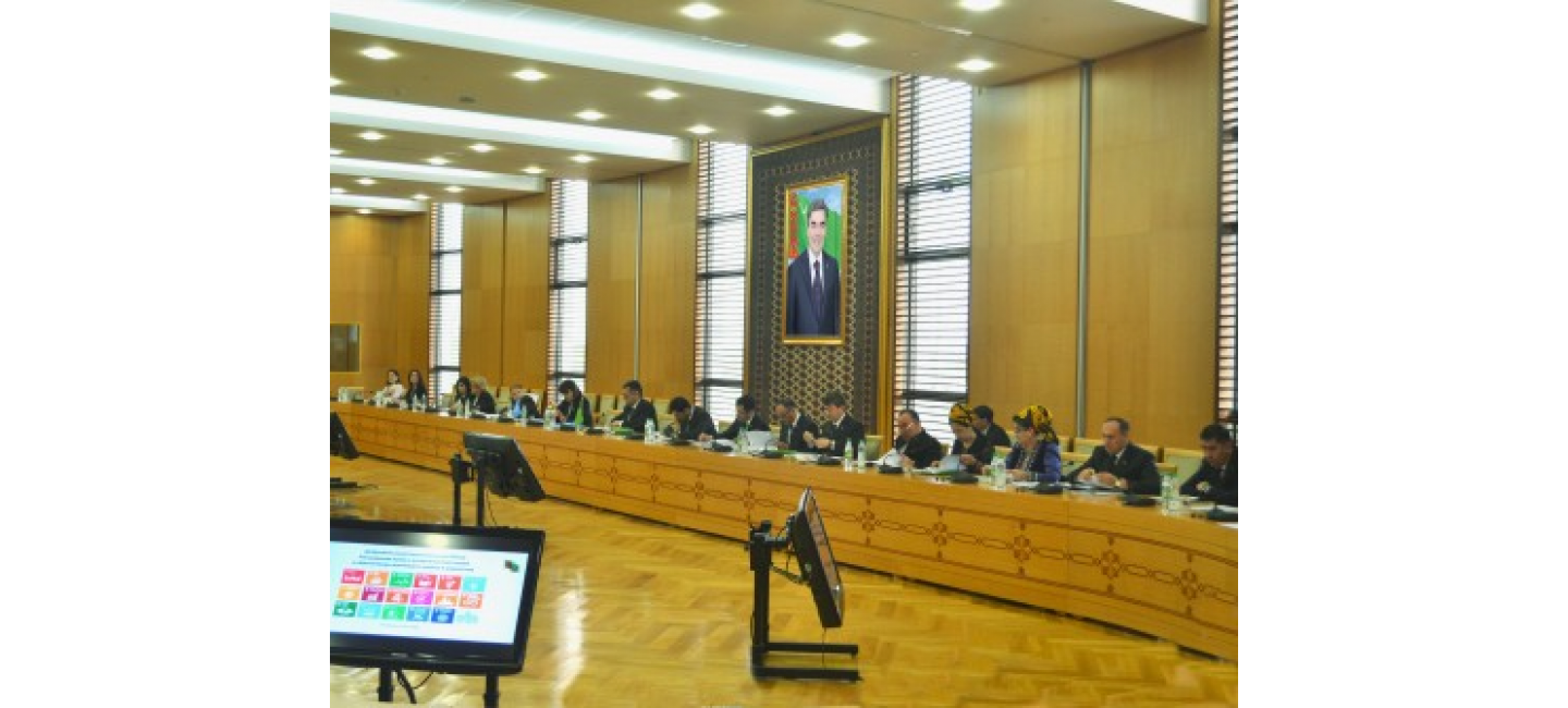 REGULAR MEETING OF THE INTERDEPARTMENTAL COMMISSION ON PREPARATION OF NATIONAL VOLUNTARY REVIEW OF THE IMPLEMENTATION OF SDGS IN TURKMENISTAN