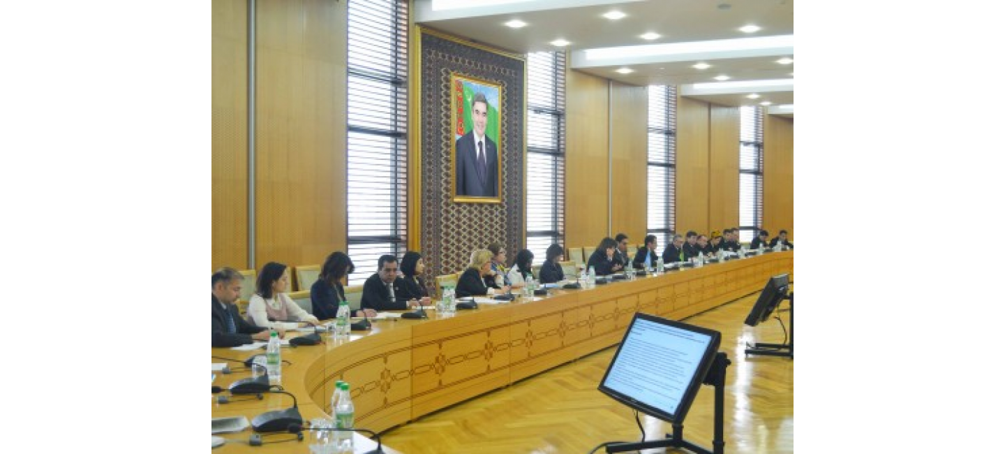 MEETING ON ASSESSING THE CONCEPT OF JOINT PROJECT ON PERFECTING THE SOCIAL PROTECTION SYSTEM